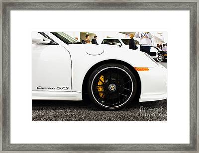 2012 Porsche 911 Carrera Gt 7d9630 Framed Print by Wingsdomain Art and Photography