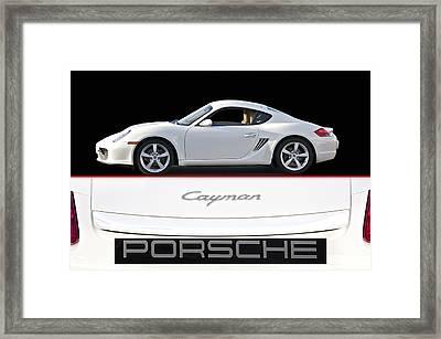 2012 Porsche Cayman R Framed Print