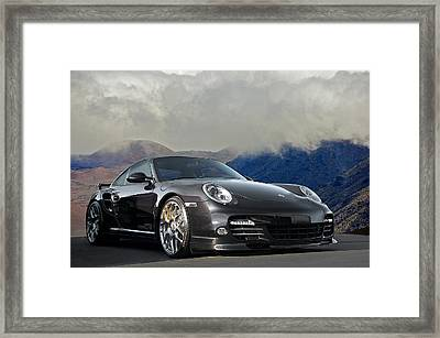 2012 Porsche Turbo S Framed Print