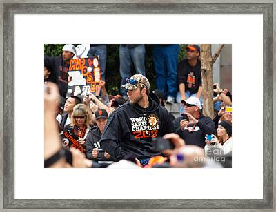 2012 World Series Champions San Francisco Giants Parade Madison Bumgarner 7d19565 Framed Print by Wingsdomain Art and Photography