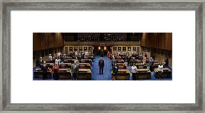 2013 Arizona Senate Portrait Framed Print