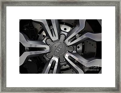 2013 Audi R8 Spyder - 5d20222 Framed Print by Wingsdomain Art and Photography