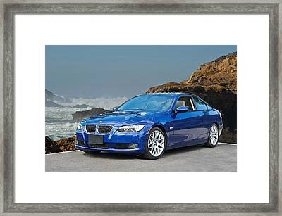 2013 Bmw 328i Sports Coupe Framed Print