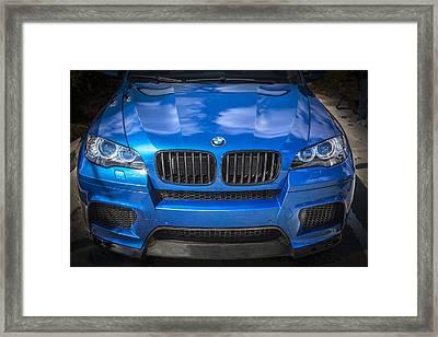 2013 Bmw X6 M Series Framed Print by Rich Franco