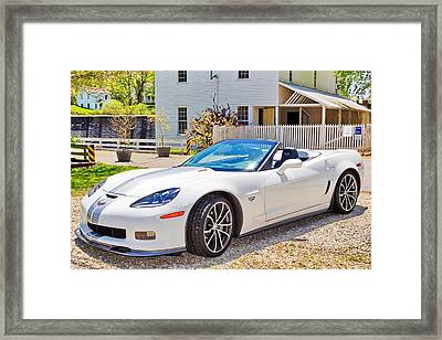 2013 Corvette 427 Anniversary Special Framed Print