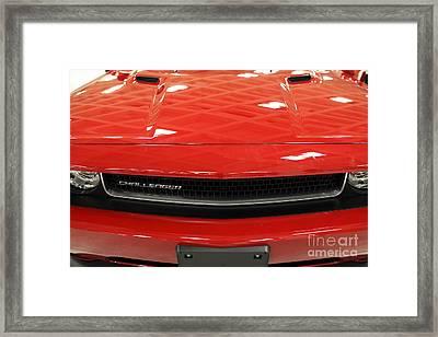 2013 Dodge Challenger - 5d20442 Framed Print