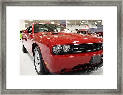 2013 Dodge Challenger - 5d20444 Framed Print