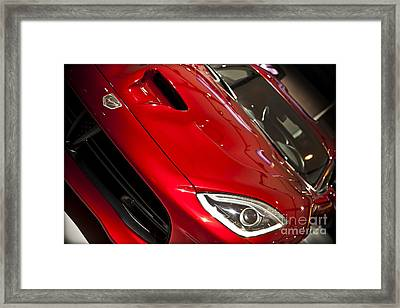 2013 Dodge Viper Srt Framed Print by Kamil Swiatek