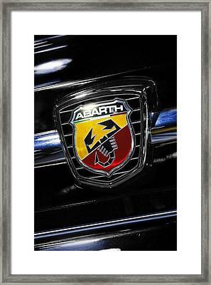 2013 Fiat 500 Abarth Framed Print by Gordon Dean II