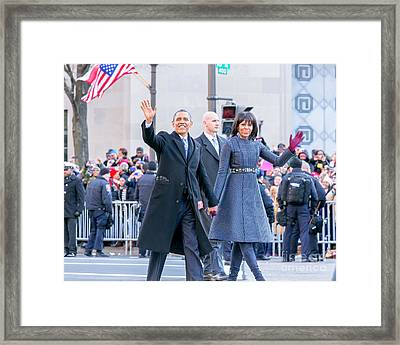 2013 Inaugural Parade Framed Print by Ava Reaves