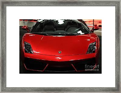 2013 Lamborghini Gallardo - 5d20178 Framed Print