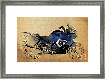 2013 Triumph Trophy Framed Print by Pablo Franchi