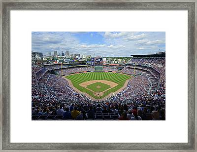 2013 Turner Field Framed Print