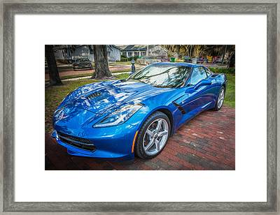 2014 Chevrolet Corvette C Framed Print