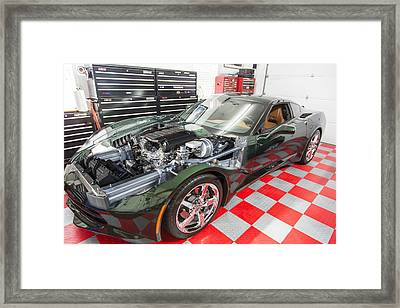 2014 Corvette Framed Print