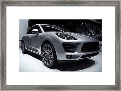 2014 Porsche Macan Framed Print