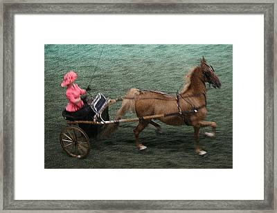 2014 Wchs - Louisville Ky Asb Adult Show Pleasure Riding Framed Print by Thia Stover