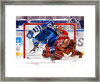 2014 Winter Classic Framed Print by Dave Olsen