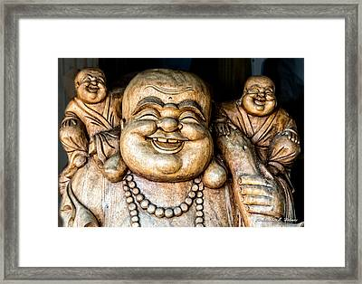 Smiles Framed Print by Christopher Holmes