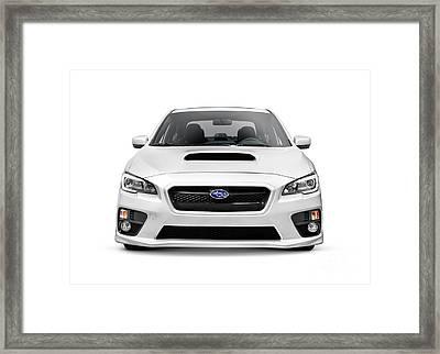 2015 Subaru Impreza Wrx Car Framed Print