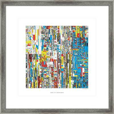 20244 Digits Of Pi Framed Print by Martin Krzywinski