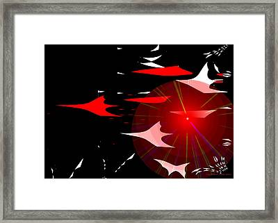 1027 - There Was Something In The Air That Night Framed Print by Irmgard Schoendorf Welch