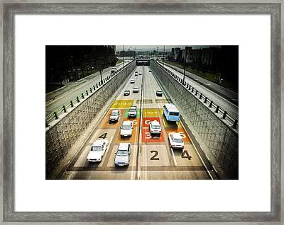 2048 Framed Print
