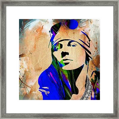 Axl Roxe Collection Framed Print