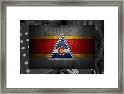 Colorado Rockies Framed Print