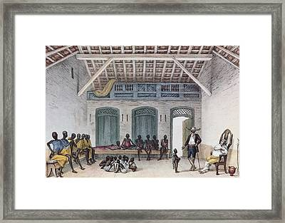 Debret, Jean Baptiste 1768-1848. A Framed Print by Everett