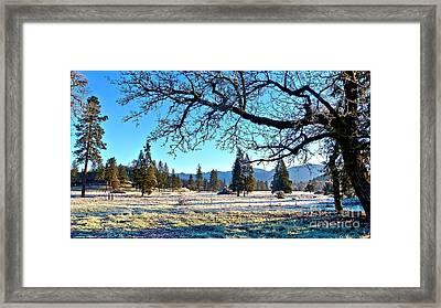 21 Degree Sunrise Framed Print