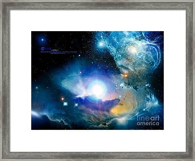 Hubble Framed Print