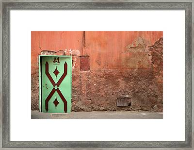 21 Jump Street Framed Print by A Rey