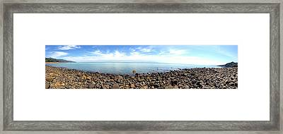 New Zealand Framed Print by Les Cunliffe