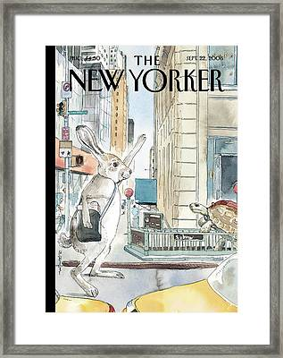New Yorker September 22nd, 2008 Framed Print