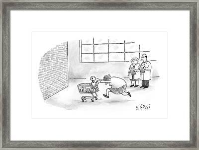 New Yorker July 3rd, 2006 Framed Print