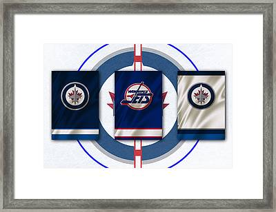 Winnipeg Jets Framed Print by Joe Hamilton