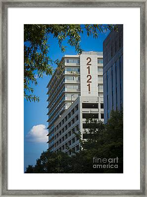 2121 Building Framed Print