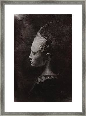 Secret Framed Print by Victor Slepushkin