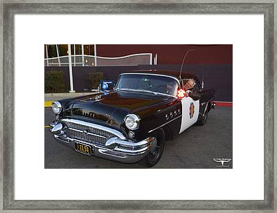 2150 To Headquarters Framed Print by Tommy Anderson