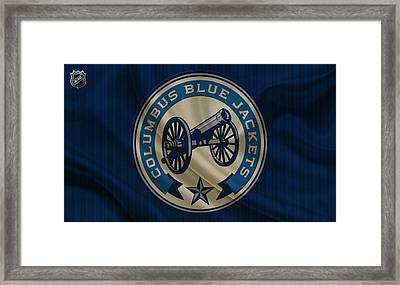 Columbus Blue Jackets Framed Print by Joe Hamilton