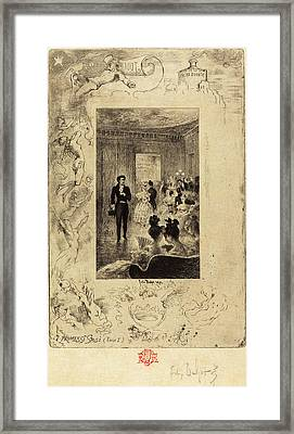 Félix-hilaire Buhot French, 1847 - 1898 Framed Print by Quint Lox