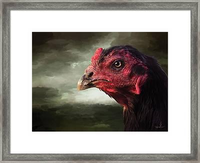 22. Game Hen Framed Print
