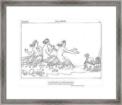 Homer The Odyssey Framed Print by Granger