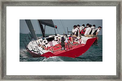 Key West Race Week Framed Print by Steven Lapkin