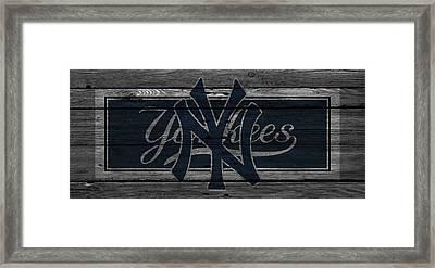 New York Yankees Framed Print by Joe Hamilton