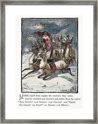 Night Before Christmas Framed Print by Granger