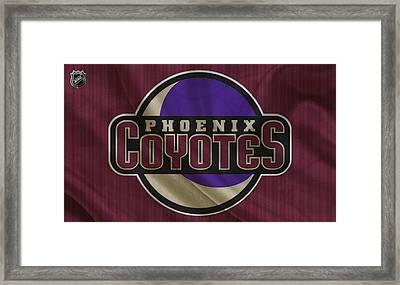 Phoenix Coyotes Framed Print