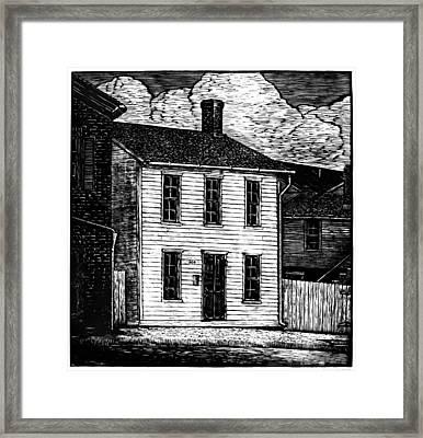 Samuel Langhorne Clemens (1835-1910) Framed Print by Granger