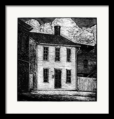 Mid-20th Drawings Framed Prints